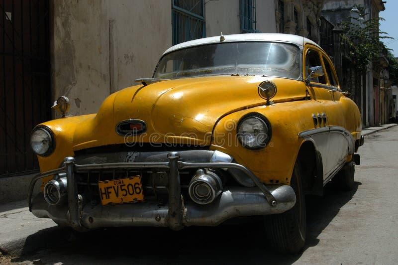 Coche clásico americano en Cuba fotos de archivo libres de regalías