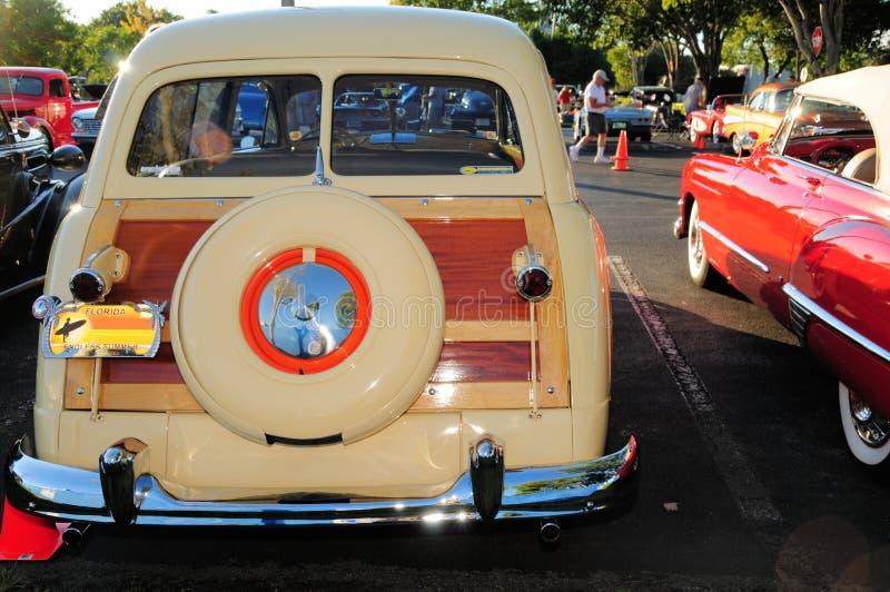 Coche clásico, furgoneta foto de archivo