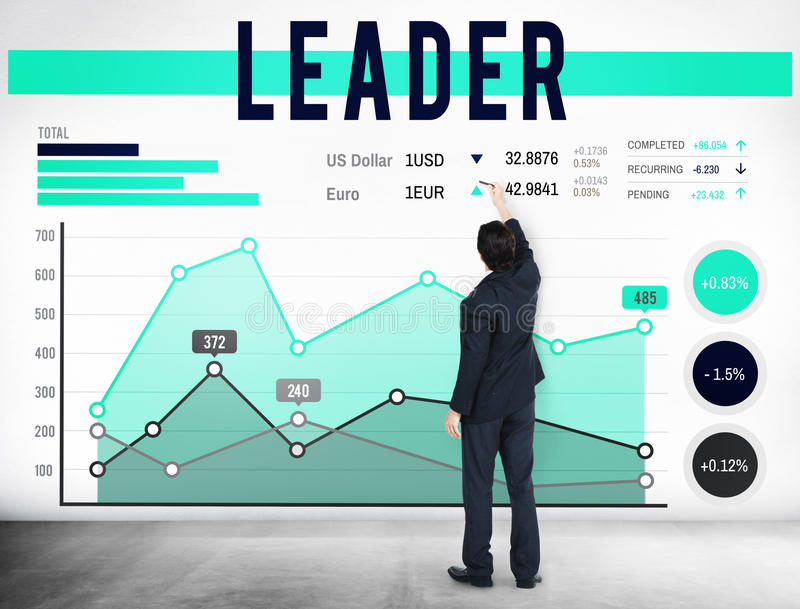 Coche Concept de Leadership Authority Chief del líder ilustración del vector
