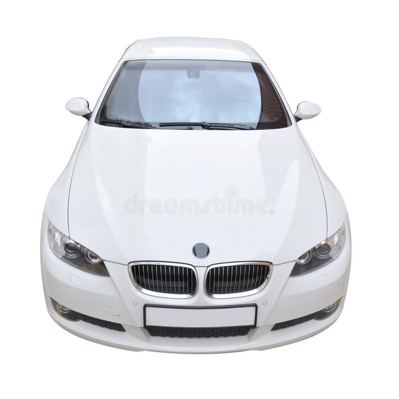 Coche convertible blanco de BMW 335i foto de archivo