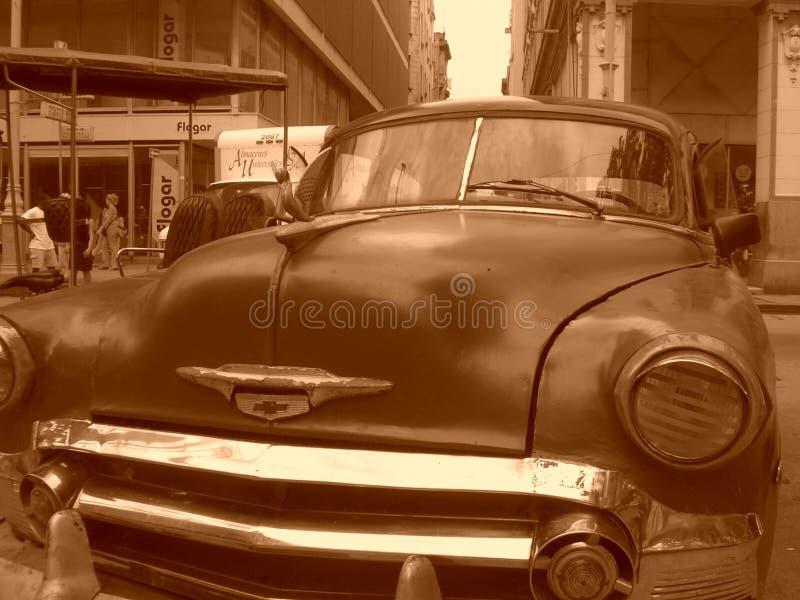 Coche cubano viejo fotografía de archivo libre de regalías