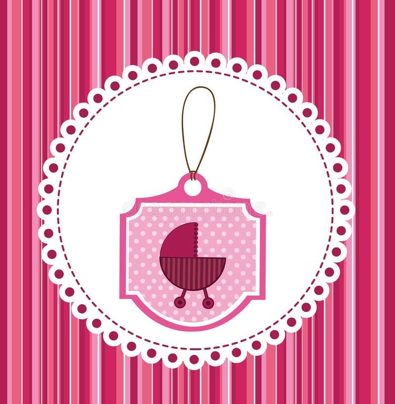 Coche de bebé libre illustration