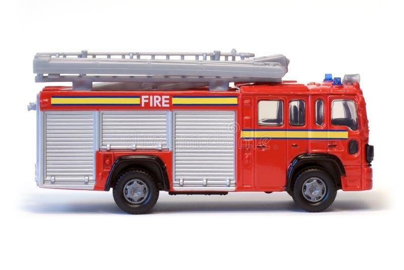 Coche de bomberos de Londres del juguete fotos de archivo libres de regalías
