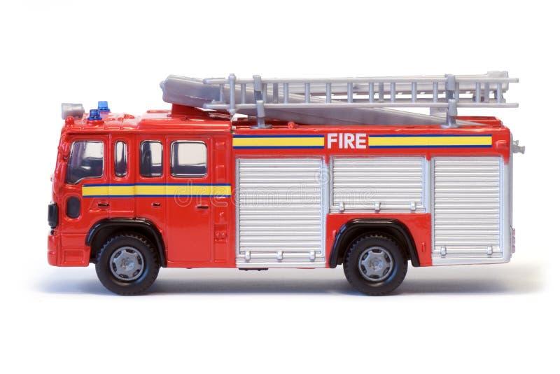 Coche de bomberos de Londres del juguete foto de archivo