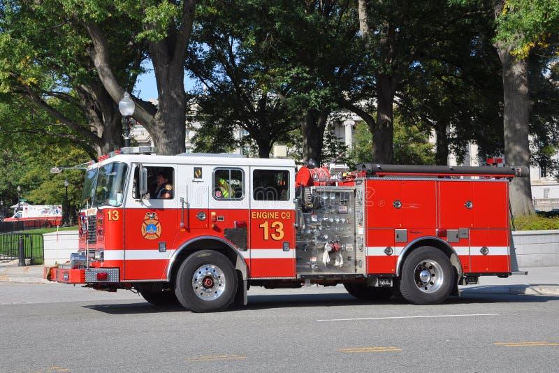 Coche de bomberos de Washington fotos de archivo libres de regalías