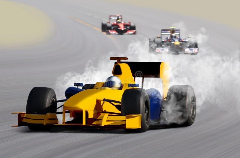 Coche de carreras imagen de archivo