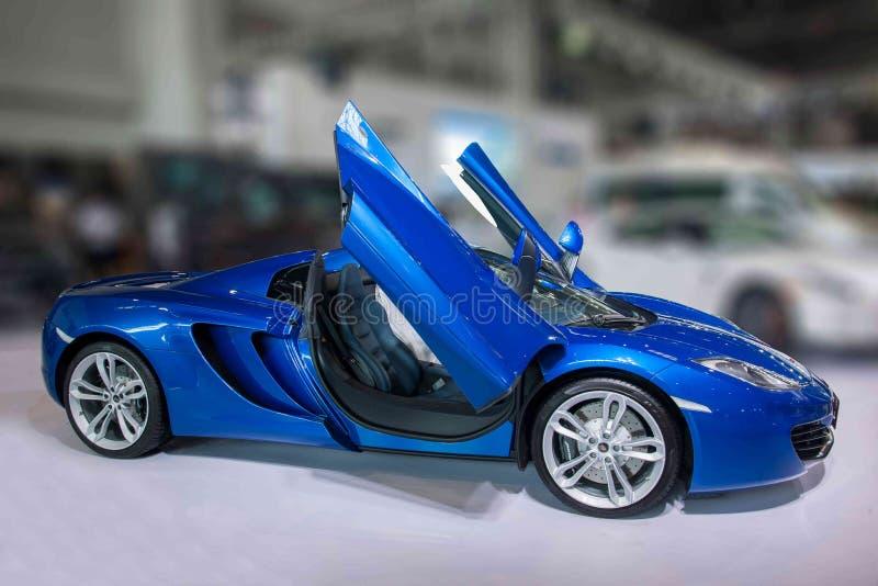 Coche de Chongqing Auto Show McLaren Series imagenes de archivo
