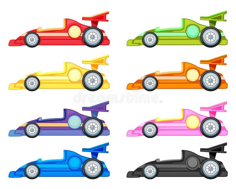 Coche de competición ilustración del vector