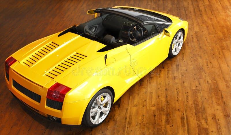 Coche de deportes de Lamborghini fotografía de archivo