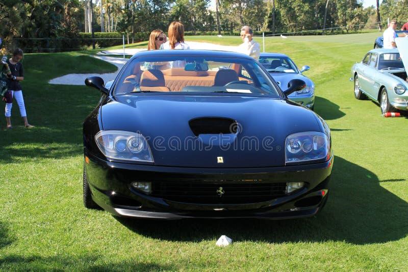 Coche de deportes moderno delantero de Ferrari imagen de archivo