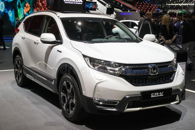 Coche de Honda CR-V imágenes de archivo libres de regalías
