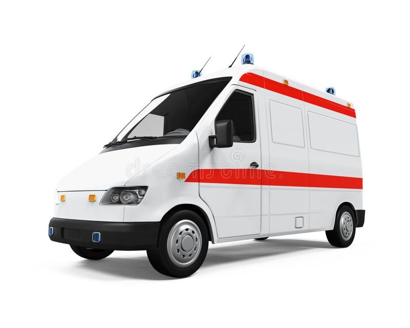 Coche de la ambulancia libre illustration
