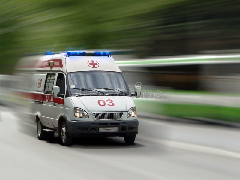 Coche de la ambulancia imagen de archivo libre de regalías