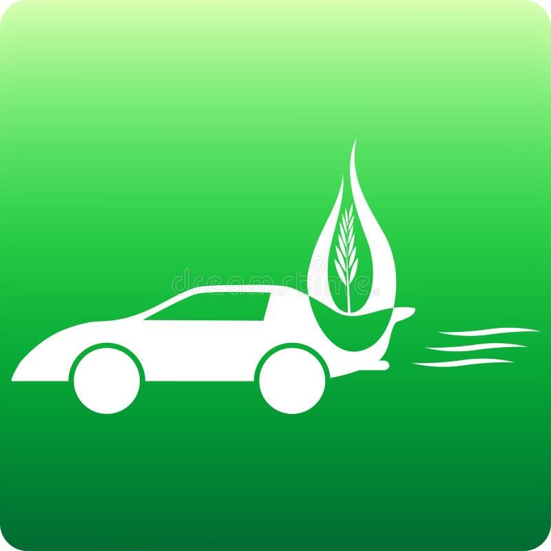 Coche de la biomasa libre illustration