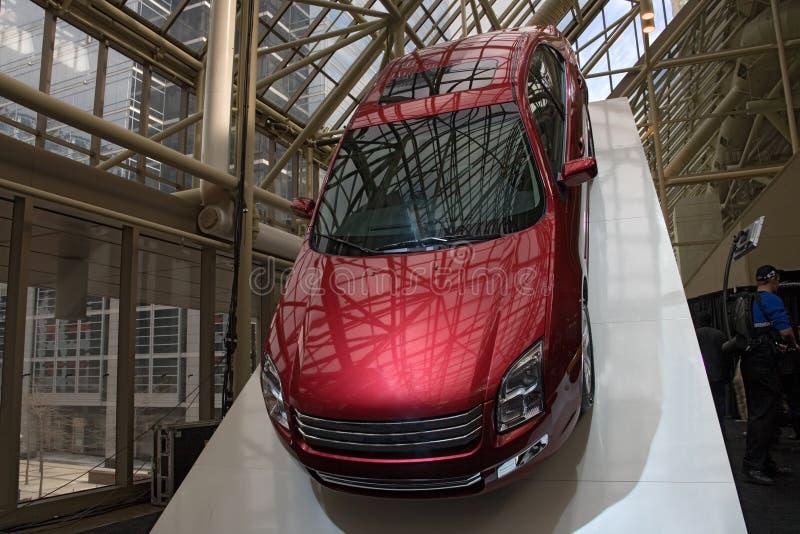 Coche de la demostración auto del transporte 010 foto de archivo