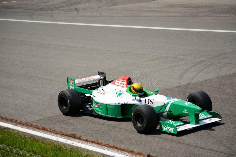 Coche de la fórmula 1 de Boss GP Forti FG03 foto de archivo