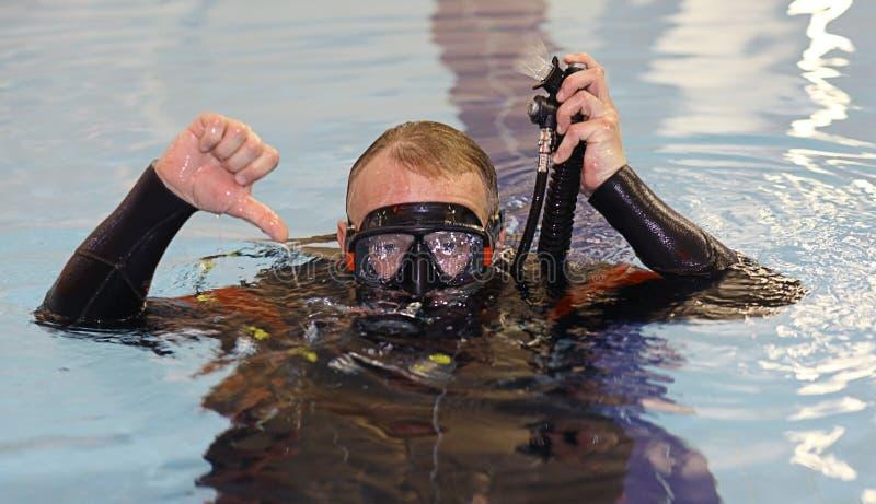 Coche de la nadada imagen de archivo
