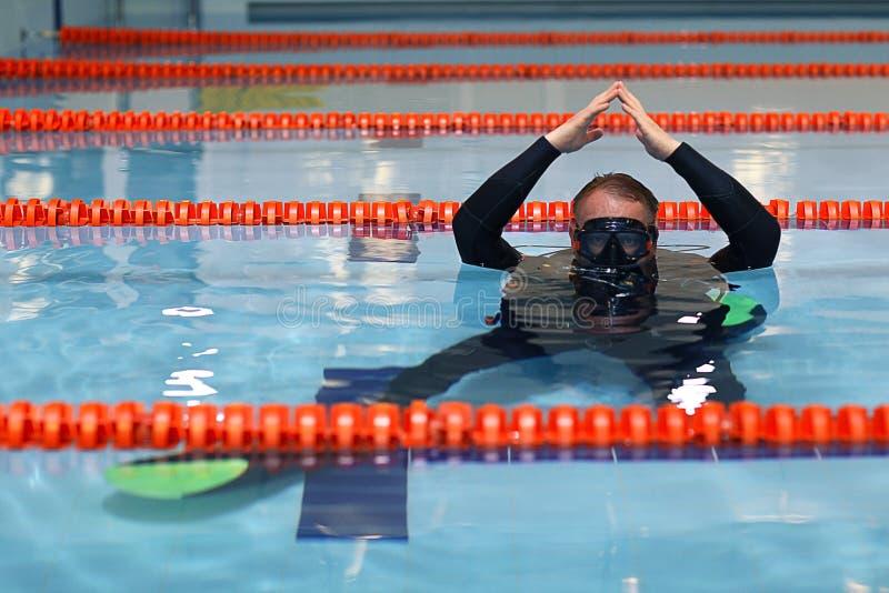Coche de la nadada foto de archivo libre de regalías
