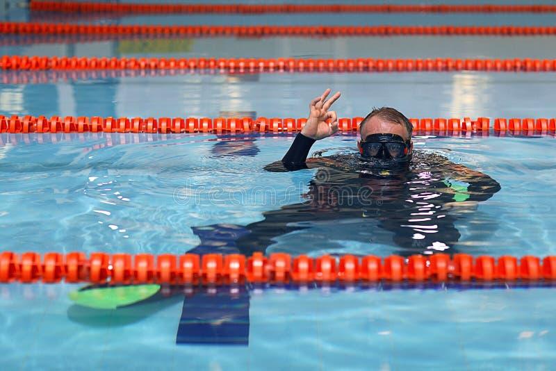 Coche de la nadada foto de archivo