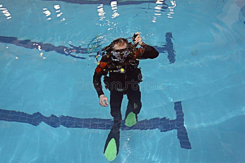 Coche de la nadada imagenes de archivo