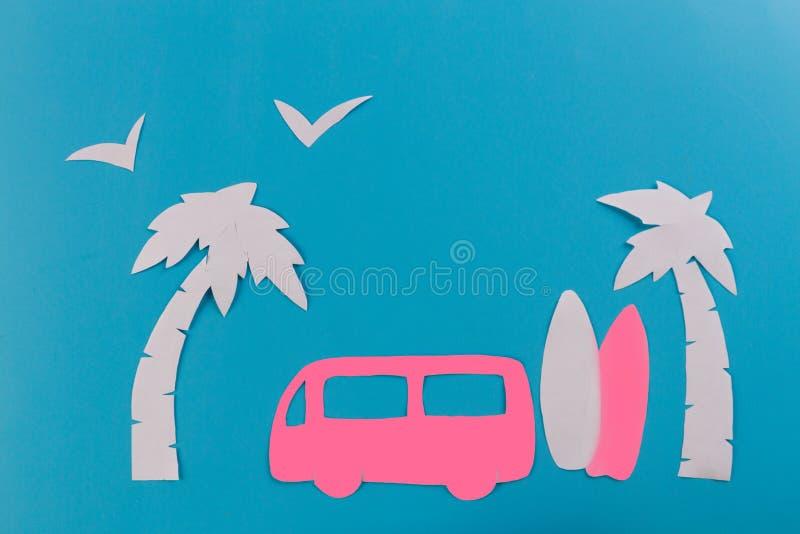 coche de la resaca en la playa fotos de archivo libres de regalías