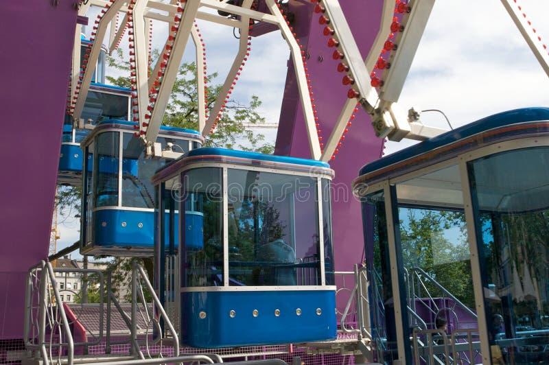 Coche de la rueda de Ferris fotos de archivo libres de regalías