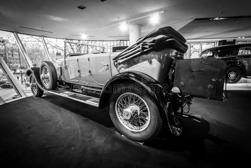 Coche de lujo Rolls-Royce Phantom abro a Tourer, 1926 fotos de archivo libres de regalías