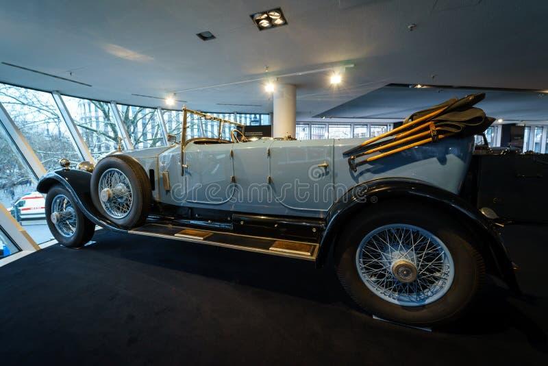 Coche de lujo Rolls-Royce Phantom abro a Tourer, 1926 fotos de archivo
