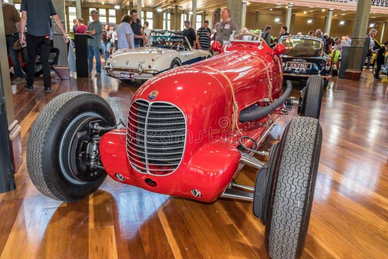 Coche 1937 de Maserati los 6CM en Motorclassica imágenes de archivo libres de regalías