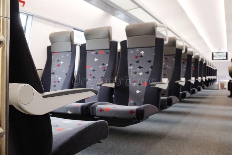 coche de pasajero del tren imagen de archivo libre de regalías
