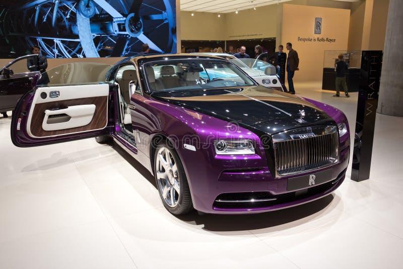 Coche de Rolls Royce Wraith foto de archivo libre de regalías
