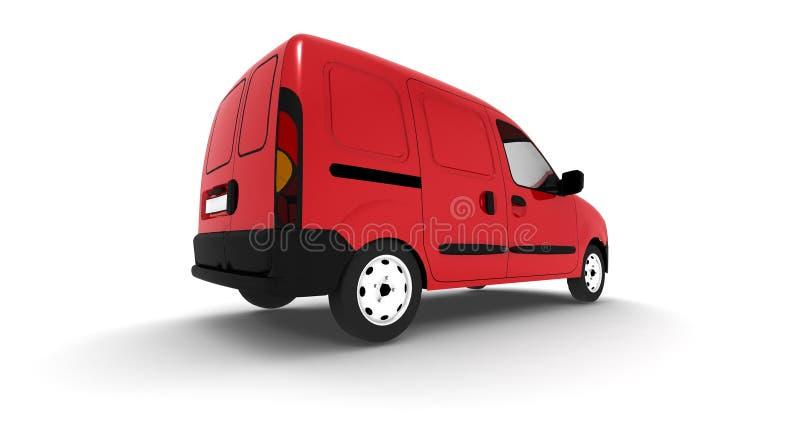 coche de salida 3d stock de ilustración