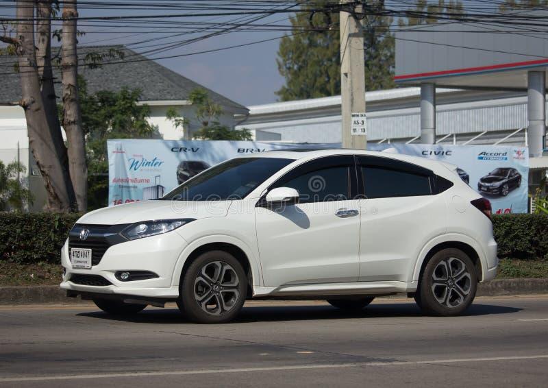 Coche de Suv de la ciudad de Honda HRV del coche privado foto de archivo