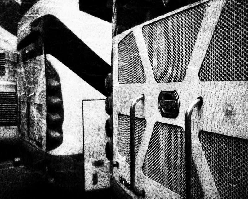 Coche del autobús foto de archivo