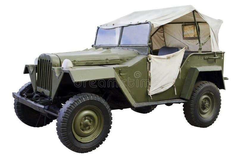 Coche del comando militar imagen de archivo libre de regalías