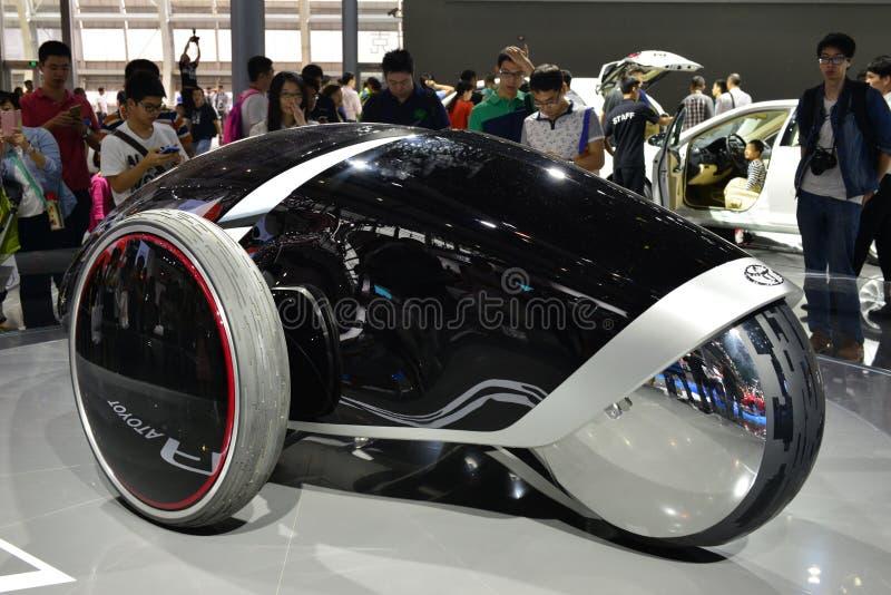 Coche del concepto de Toyota FV2 imagen de archivo libre de regalías