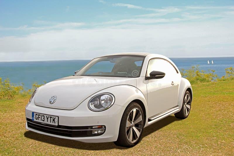 Coche del diseño moderno de Volkswagen fotos de archivo