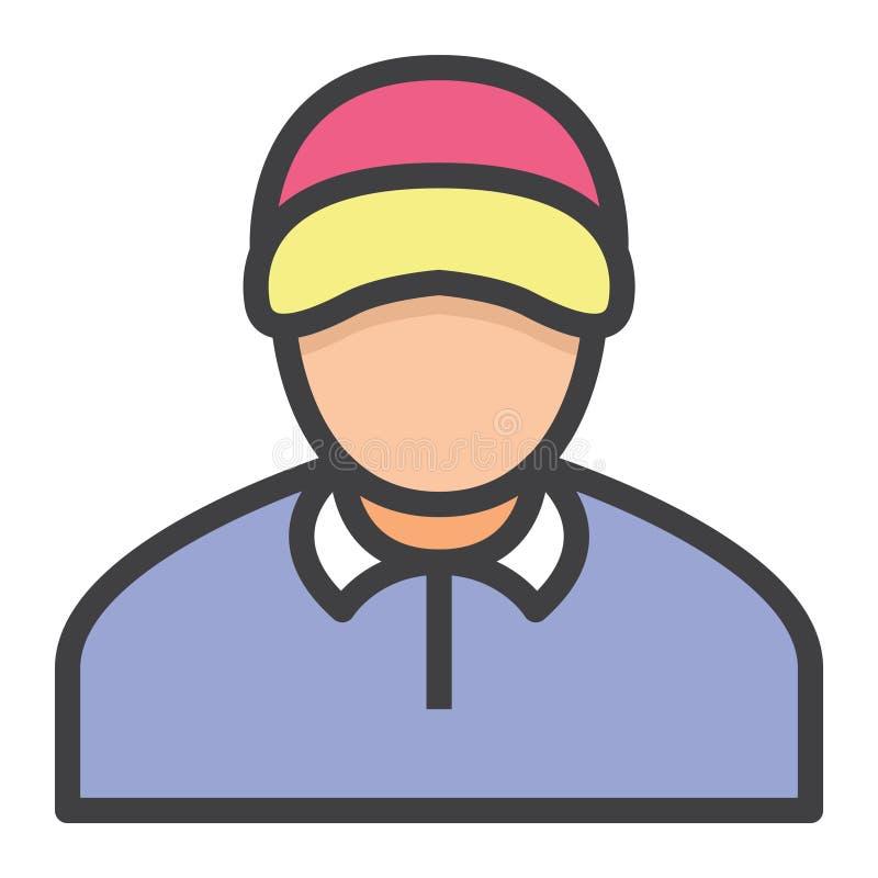 Coche del hombre de negocios libre illustration