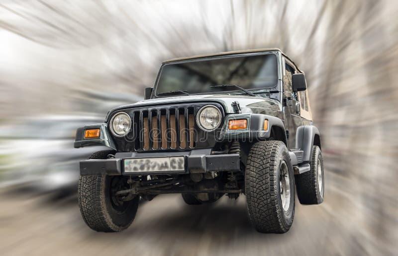 Coche del jeep imágenes de archivo libres de regalías