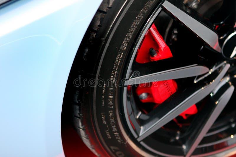 Coche del lujo del DB 11 de Aston Martin imagenes de archivo