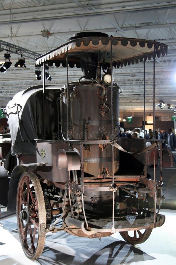 Coche del motor de vapor fotos de archivo libres de regalías