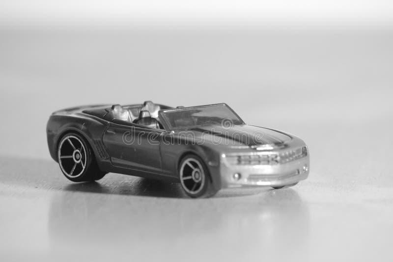 Coche deportivo miniatura foto de archivo libre de regalías