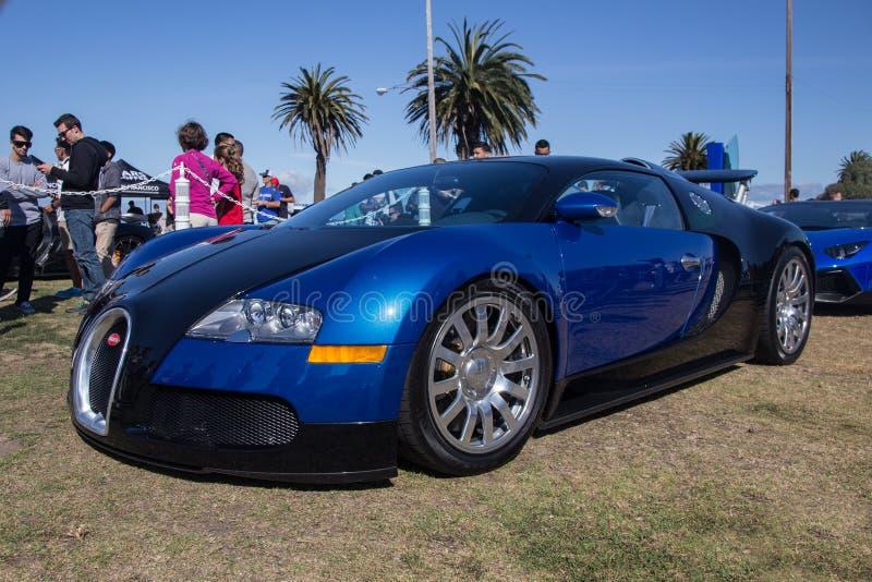 Coche estupendo de Bugatti foto de archivo