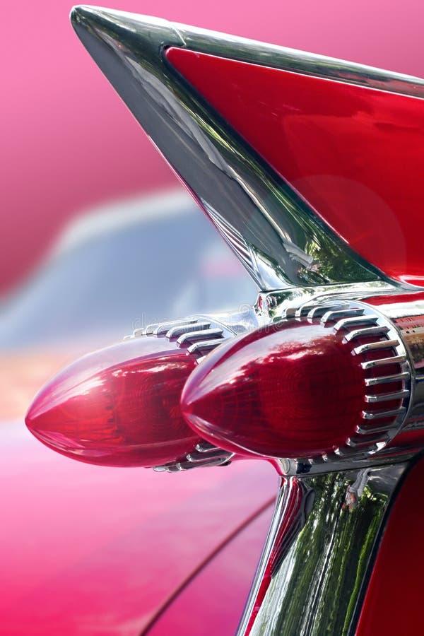 Coche ideal rosado imagenes de archivo