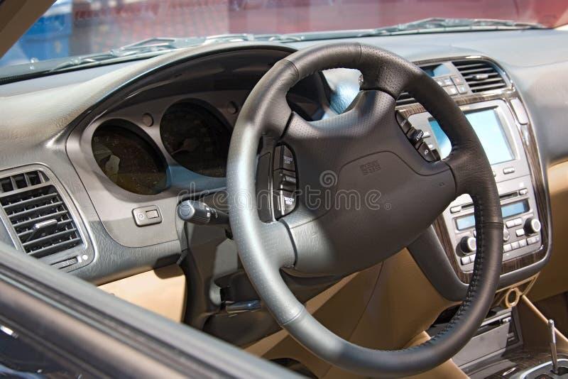 Coche interior de la demostración auto del transporte fotos de archivo libres de regalías