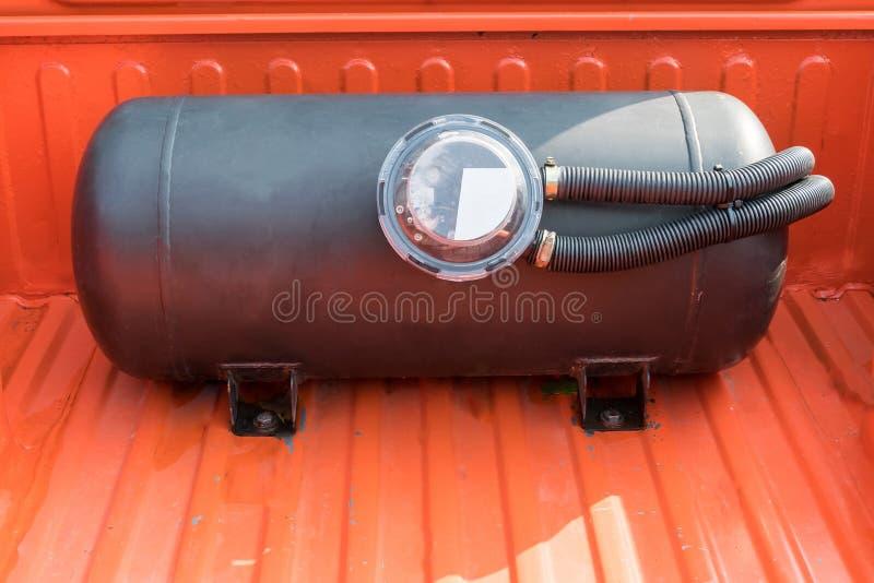 Coche modificado del vehículo natural del gas de la energía usado imagen de archivo