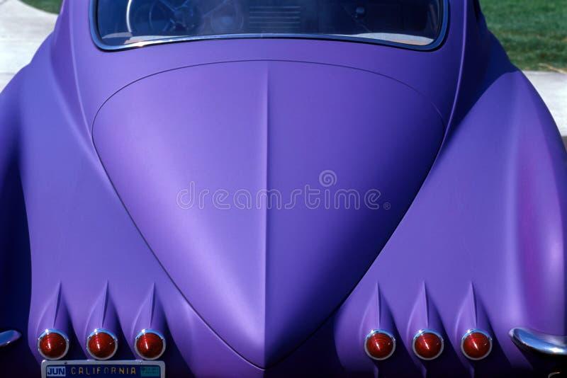 Coche púrpura fotografía de archivo libre de regalías