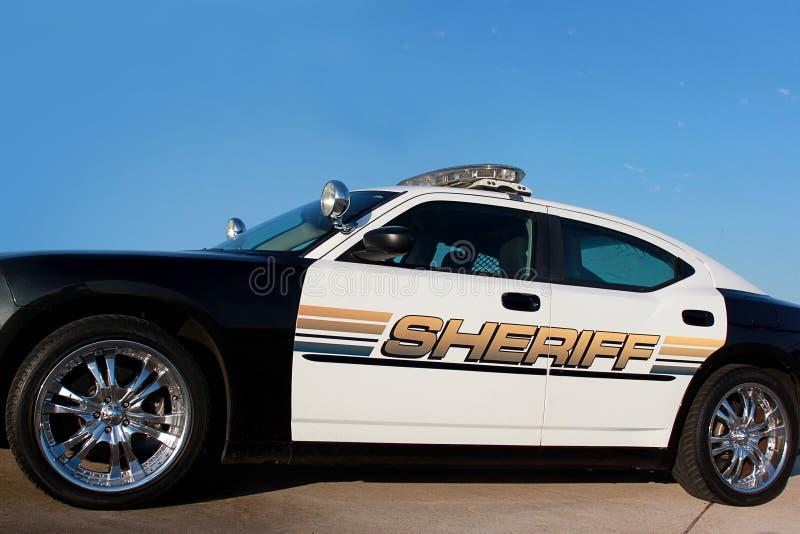 Coche patrulla del sheriff imágenes de archivo libres de regalías
