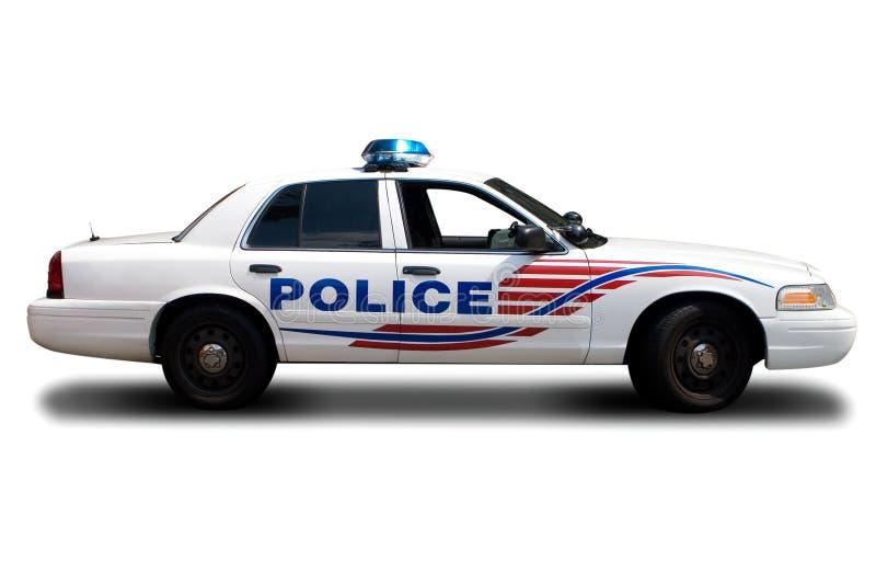 Coche policía imagen de archivo libre de regalías
