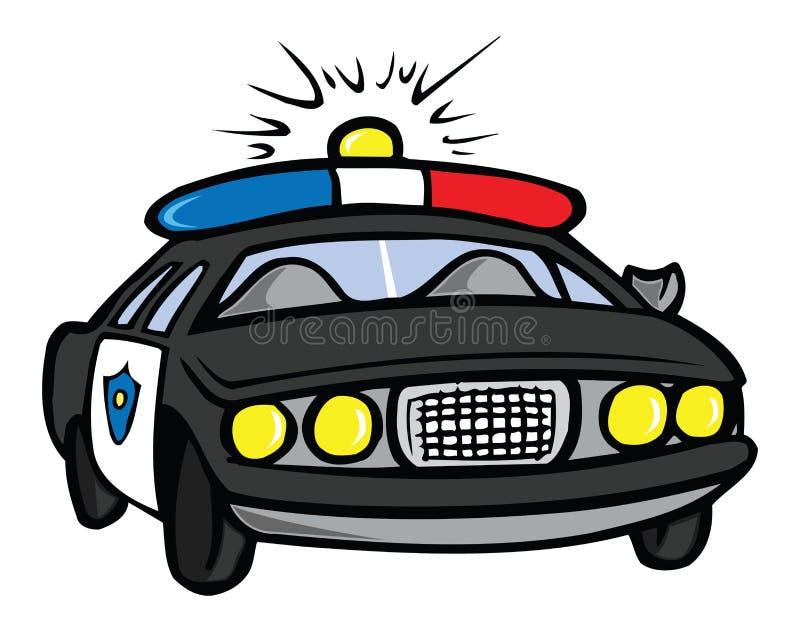 Coche policía libre illustration
